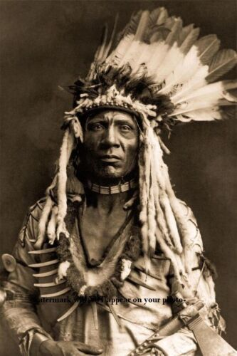 Weasel Tail Blackfoot PHOTO Indian Native American Blackfeet 1900 Peigan Montana