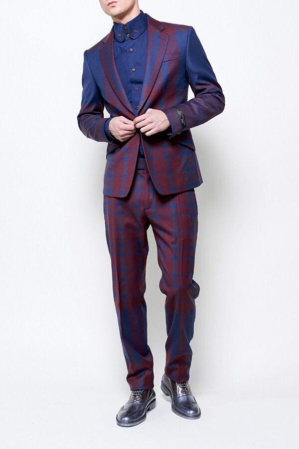 One-button Suit-cut
