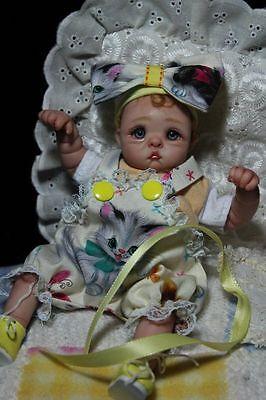 OOAK Baby Art Doll Polymer Clay by Svitlana
