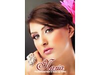 Wedding and party hair and make up