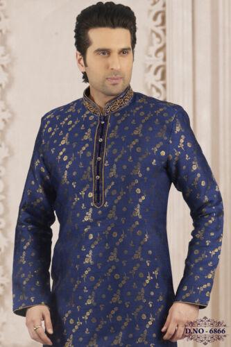 Indian Mens Traditional Bollywood Wedding Ethnic Wear Designer Kurta Payjama