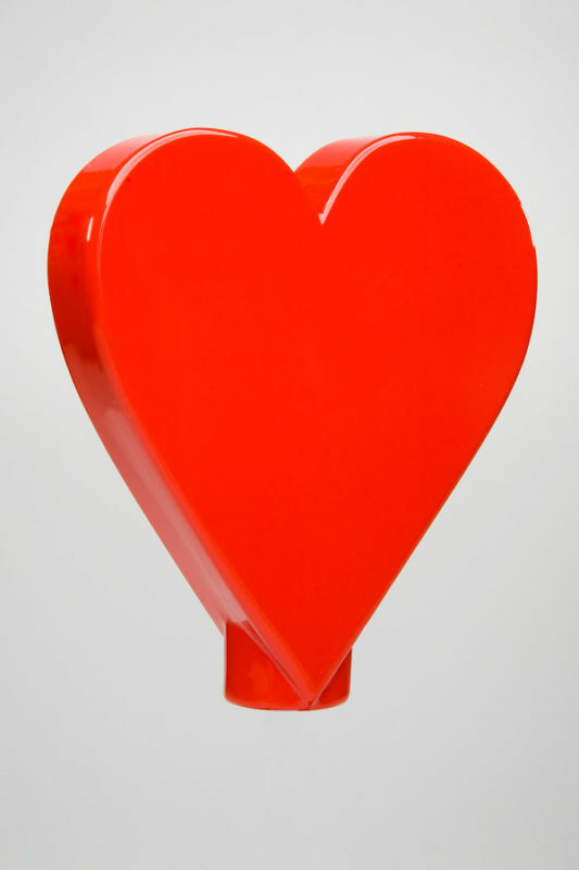 Van Chase custom shift knob -   Red Heart