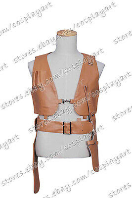 Leon: The Professional Leon Cosplay Costume Brown Vest Halloween Party Fashion - The Professional Halloween Costumes