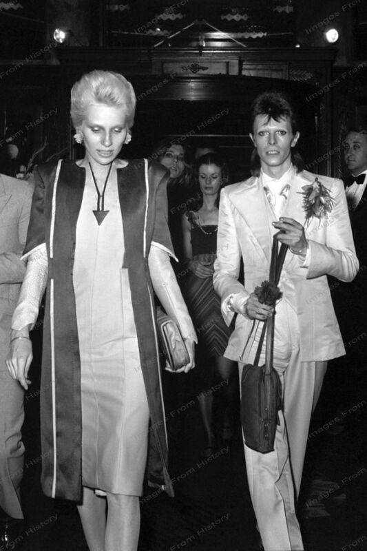 8x10 Print David Angie Bowie Ziggy Stardust Party 1973 #DB32