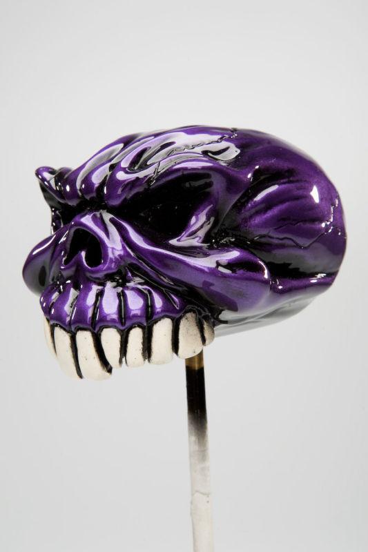 "Van Chase custom shift knob -  ""Gomez"" -  purple"