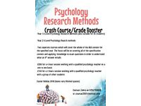 Psychology Research Methods Grade Booster/Crash Course