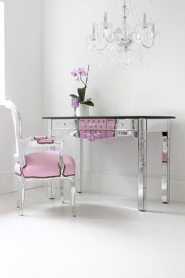 Venetian mirrored dressing table set with etching | in North West ...
