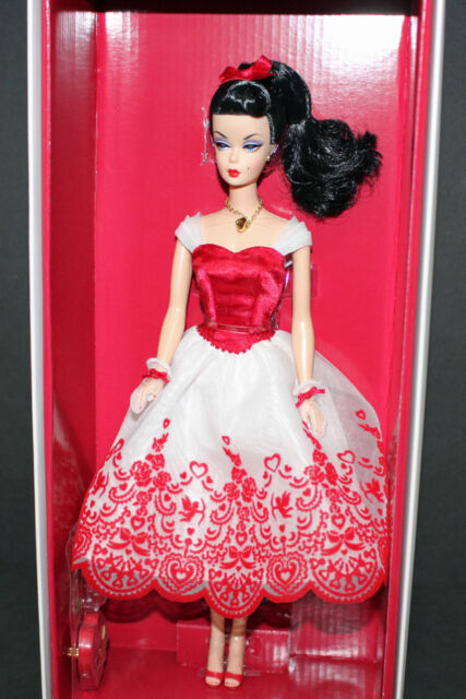Cupid's Kisses Barbie Doll, Holiday Hostess Coll, #BCR06, 2013, nrfb!