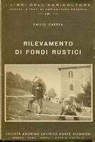 Cardea Emilio - Rilevamneto Di Fondi Rustici -  - ebay.it