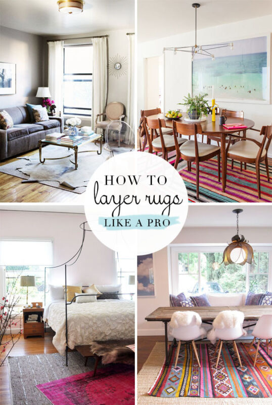 how to layer rugs like a pro ebay. Black Bedroom Furniture Sets. Home Design Ideas