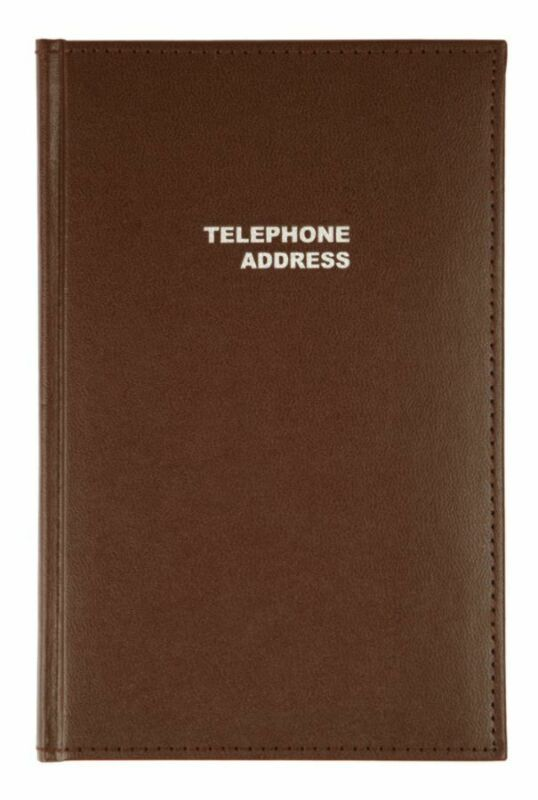 "Office Depot® Brand Vinyl Desk Telephone/Address Book, 5 1/8"" x 7 3/4"