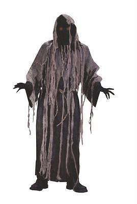 Erwachsene Zombie Netzgewebe Robe Blinkend Augen Kostüm FW5426 (Zombie Robe Kostüme)