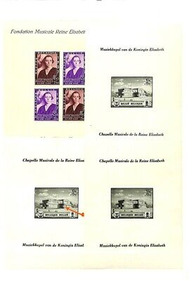 [OP7739] Belgium lot of sheets on 12 pages