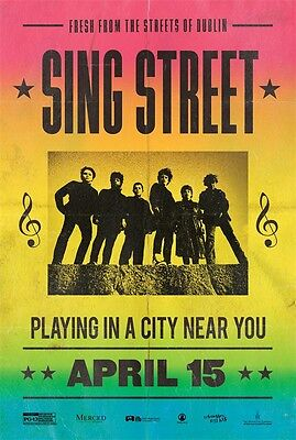 "Sing Street Art Decor Movie Film Art POSTER CLZSQG-02 36x24"""