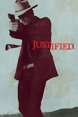 Timothy Olyphant TV Series Justified POSTER Decor HXJT-10 36x24""