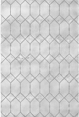 Privacy Decorative Window Film Textured Old English Static C