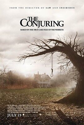 """Horror Thriller The Conjuring Art Canvas Wall Decor Movie POSTER ZH-02 36x24"""""""