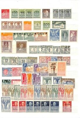 [OP7619] Worldwide lot of stamps on 12 pages