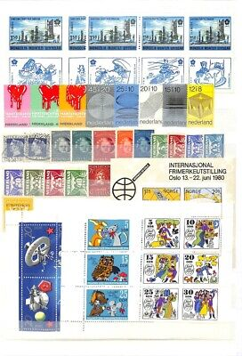 [OP7621] Worldwide lot of stamps on 12 pages