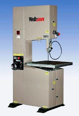 Wellsaw 20 X 16 Metal Working Vertical Band Saw New Model V-20