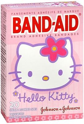 (BAND-AID Bandages Hello Kitty Assorted Sizes 20 Each)