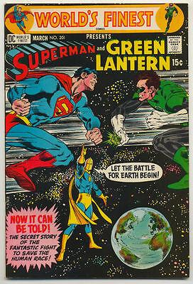 World's Finest #201 (1971) Very Fine Plus (8.5) O'Neil ~ DC Comics
