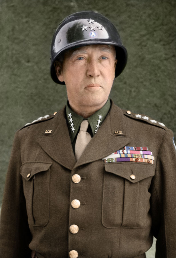 an analysis of the leadership style and accomplishments of george s patton a senior officer of the u
