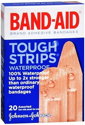 (BAND-AID Bandages Tough-Strips Assorted 20 Each)