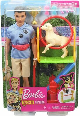 Barbie You Can Be Anything Dog Trainer Ken Doll
