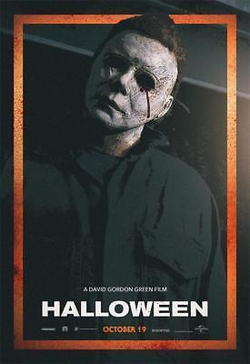 2018 Terror Thriller Film Halloween Returns Movie Art Poster Print Decor](Filme Terror Halloween)