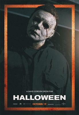 2018 Halloween Returns Movie Terror Film Fabric Poster 18x12 36x24 40x27
