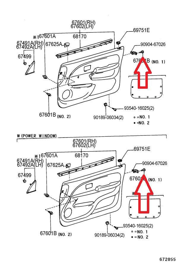 toyota 4runner body panels oem