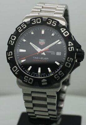 TAG HEUER FORMULA 1 Professional White 41 mm Rotating Bezel Swiss Quartz Watch