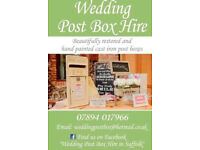 Wedding Post Box Hire in Suffolk