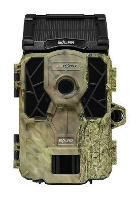 New 2017 SpyPoint Solar Low Glow Infrared 12MP Game Trail Camera Auth/ Dealer