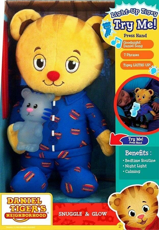 Daniel Tiger's Plush Figures Neighborhood Snuggle and Glow P