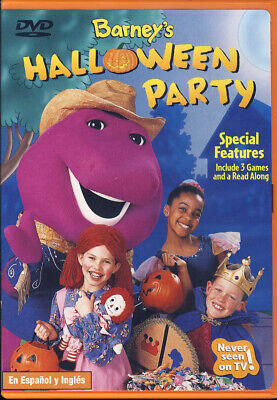 BARNEY - BARNEY'S HALLOWEEN PARTY (DVD) - Barney's Halloween Party Dvd