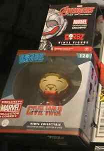 Marvel Collector Corps Dorbz! Unmasked Ironman & Ultron Beaumaris Bayside Area Preview