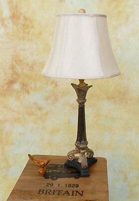 Tischlampe Lampe Stehleuchte Tischleuchte Stoffschirm Leuchte PQ027-b