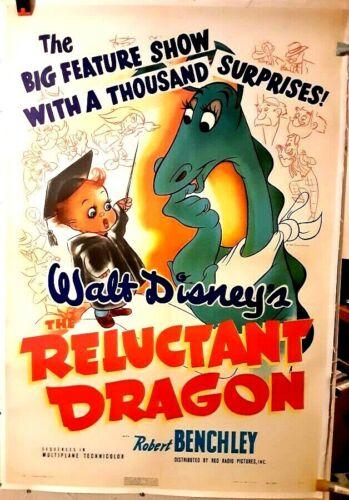 poster on linen Original Walt Disney