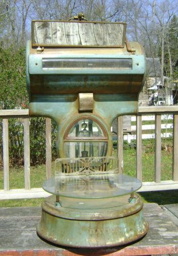 antique Dayton computing barrel scale #344
