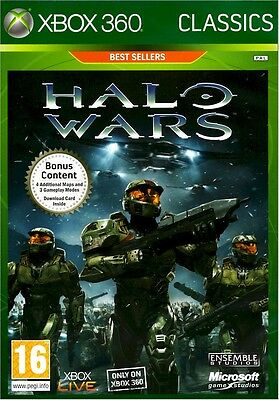 Bungie Halo Wars Xbox 360 Region Free Sealed