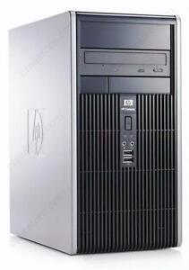 Tour Micro HP DC5750 Atlon 2.2 Ghz Dual Core - Mémoire 4 Go - Disque 160 Go - Graveur DVD - Windows 7 familiale