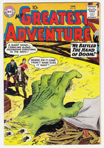 MY GREATEST ADVENTURE #32 - 1959 DC Comics - Fine condition