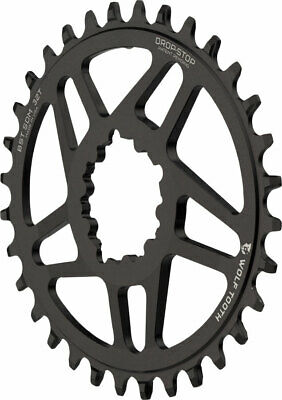Wolf Tooth Components Drop-Stop Chainring for Shimano XT 8000 Cranksets wi 38T