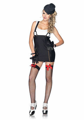 Gangster Costume Girl (Gangster Girl Womans costume Leg Avenue 83866)