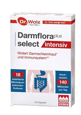Dr.Wolz Darmflora plus select INTENSIV, 40 Kapseln