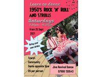 1950's Rock n Roll and Strolls Dance Class