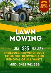 Lawn Mowing | Fully Insured | Reliable Service | Excellent Prices