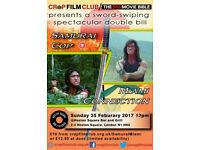 Crap Film Club presents: Samurai Cop and Miami Connection Double Bill
